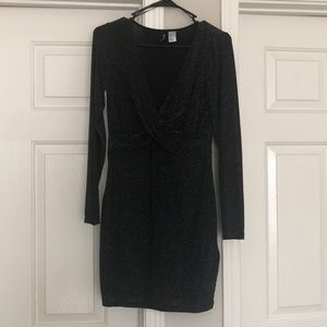 Divided dress, worn once.
